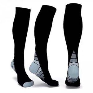 Other - Black Compression Socks Size S/M Athletic BrandNew